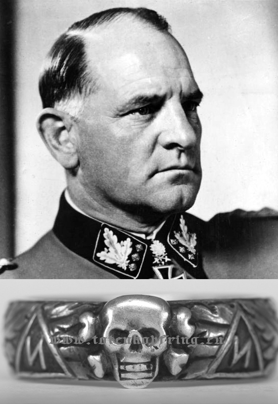 "SS-Totenkopfring Josef ""SEPP"" DIETRICH 24. XII. 1933 - OFFERS WELCOME!"