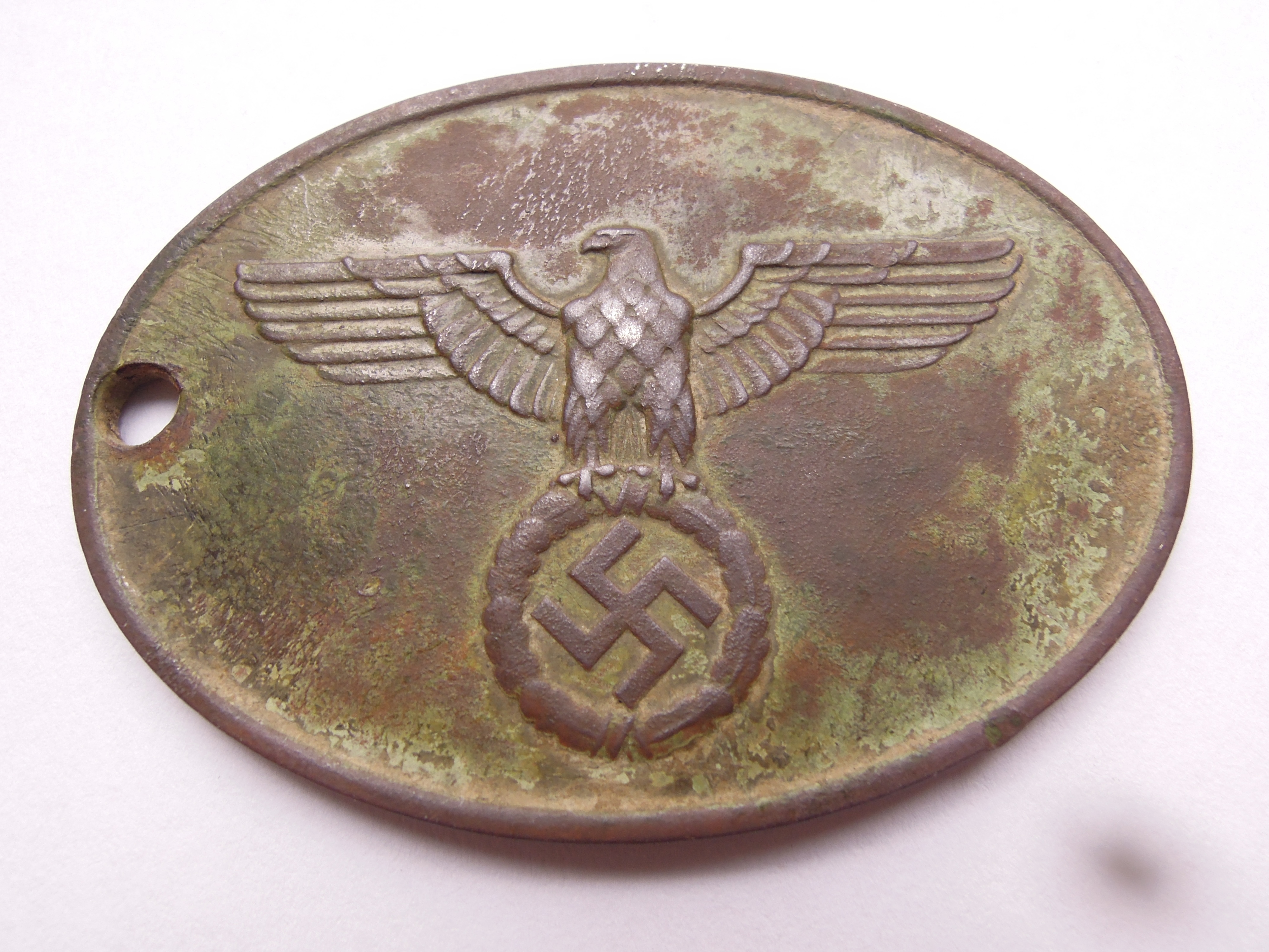 GROUND DUG GESTAPO WARRANT DISC no. 9104