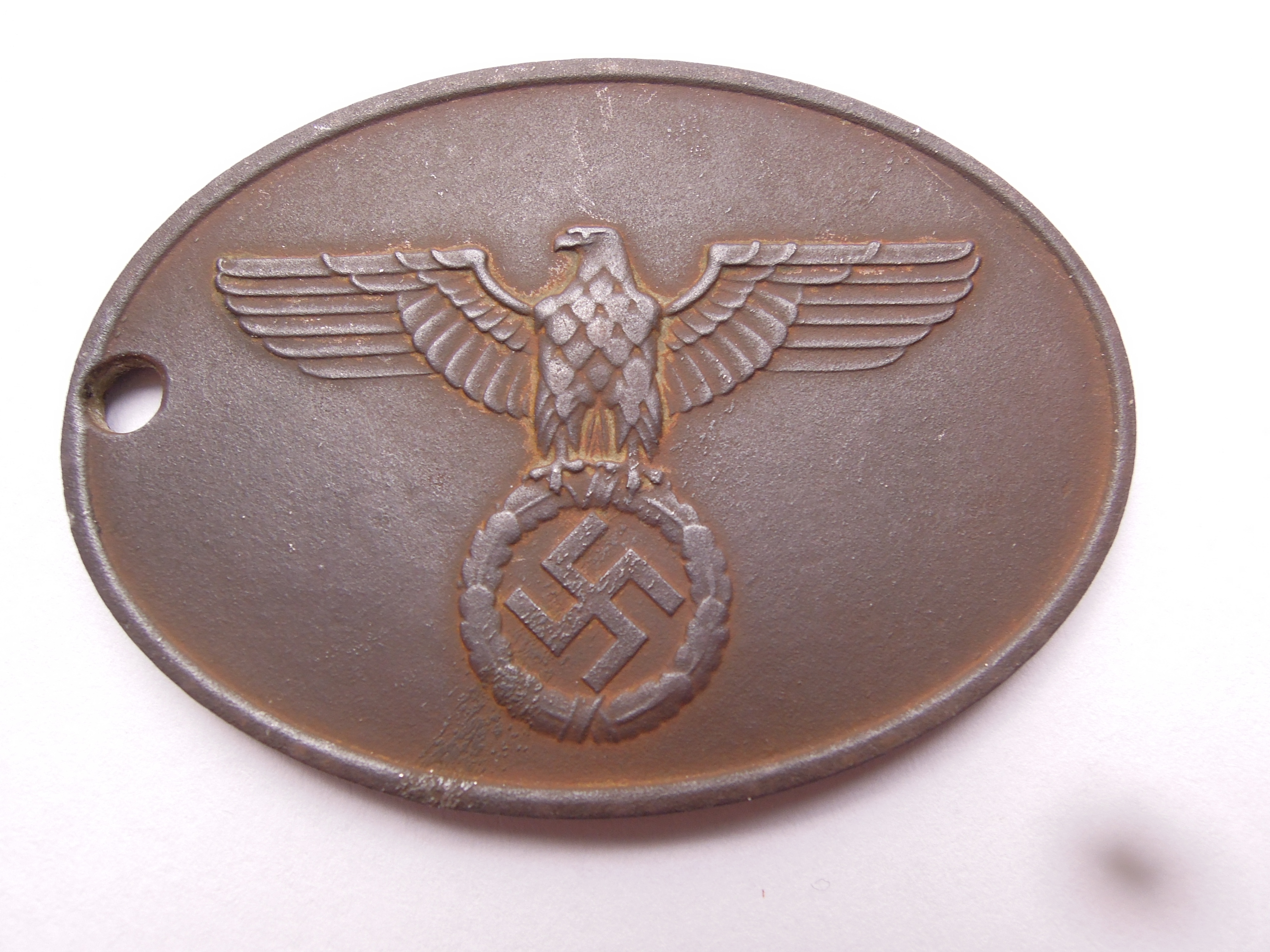 GROUND DUG GESTAPO WARRANT DISC no. 9135