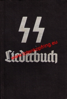 Liederbuch with SS-Totenkopfring picture